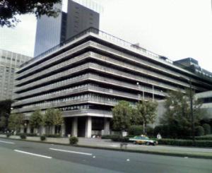 旧日比谷電電ビル(2007年10月13日撮影)